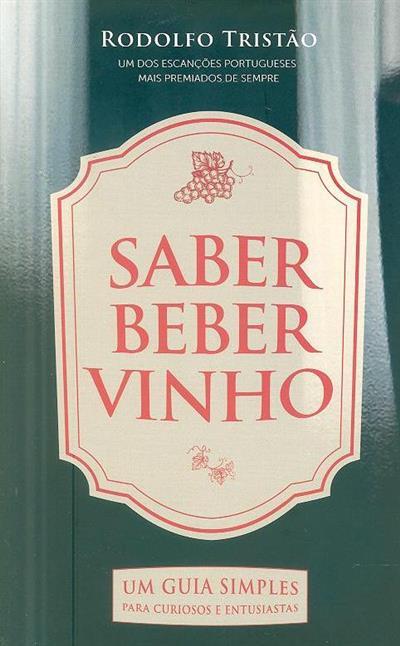 Saber beber vinho (Rodolfo Tristão)