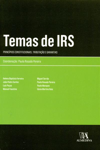 Temas de IRS (Helena Baptista Ferreira... [et al.])