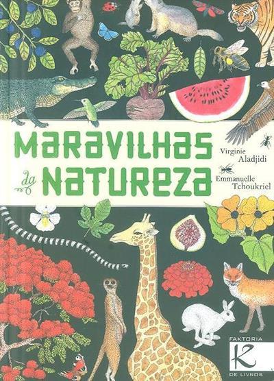 Maravilhas da natureza (Virginie Aladjidi)