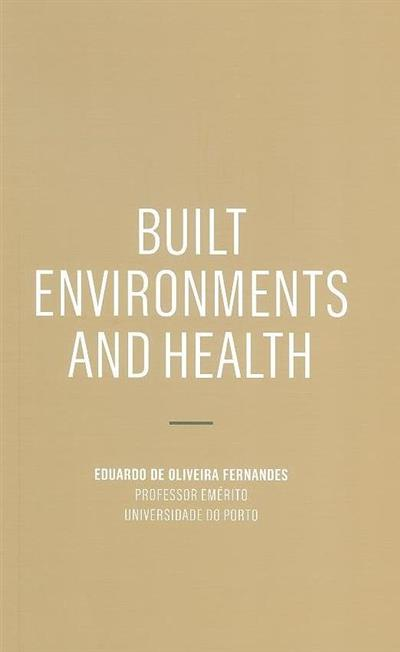 Built environments and health