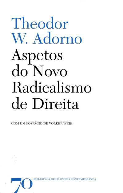 Aspetos do novo radicalismo de direita (Theodor W. Adorno)