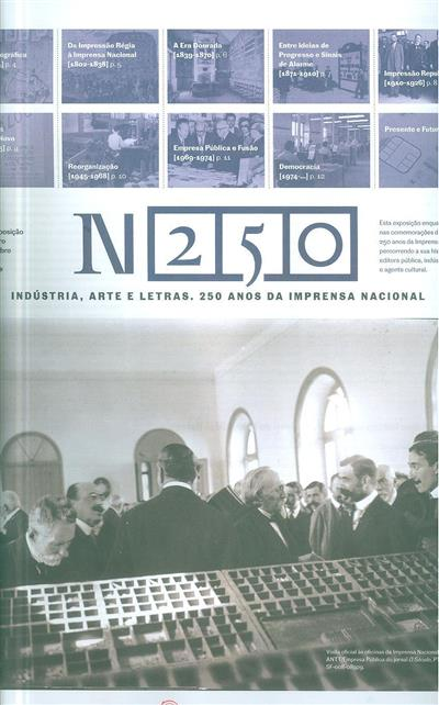 IN 250 (ed., org. Imprensa Nacional Casa da Moeda)