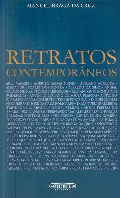 Retratos contemporâneos (Manuel Braga da Cruz)