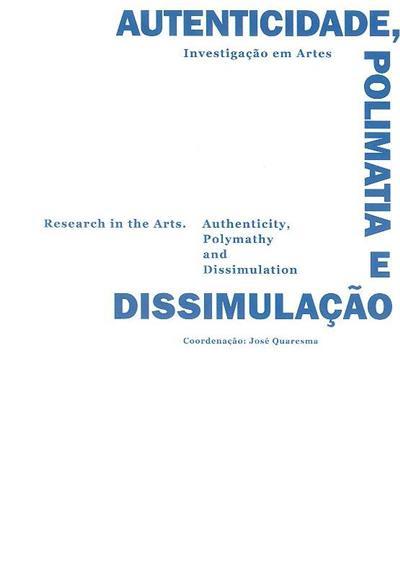 Investigação em artes (coord. José Quaresma)