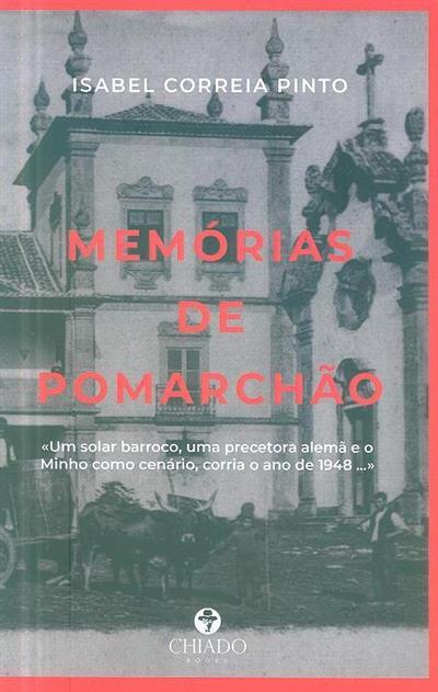 Memórias de Pomarchão (Isabel Correia Pinto)