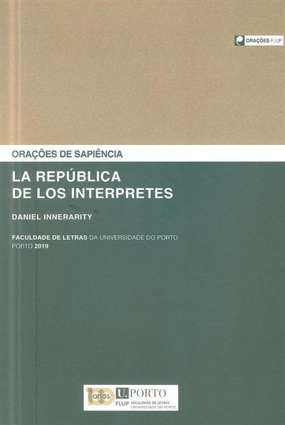 La república de los interpretes (Daniel Innerarity)