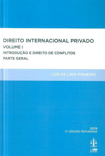 Direito internacional privado (Luís de Lima Pinheiro)