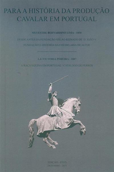 Para a história da produção cavalar em Portugal