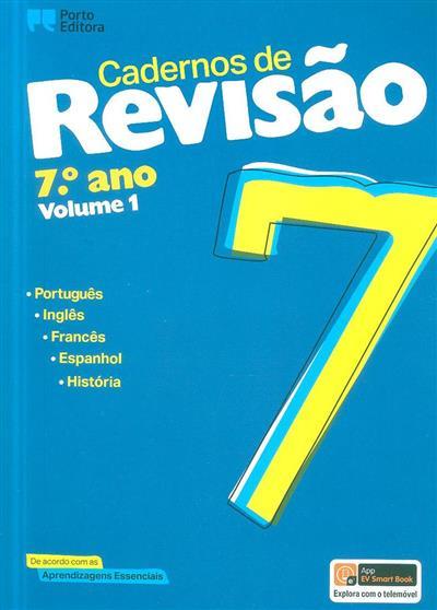 Cadernos de revisão, 7º ano (Nuno dos Santos Sousa... [et al.])