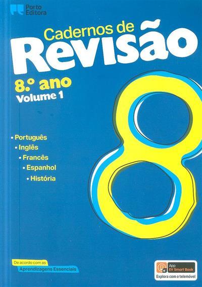 Cadernos de revisão, 8º ano (Maria Luisa Ferreira... [et al.])