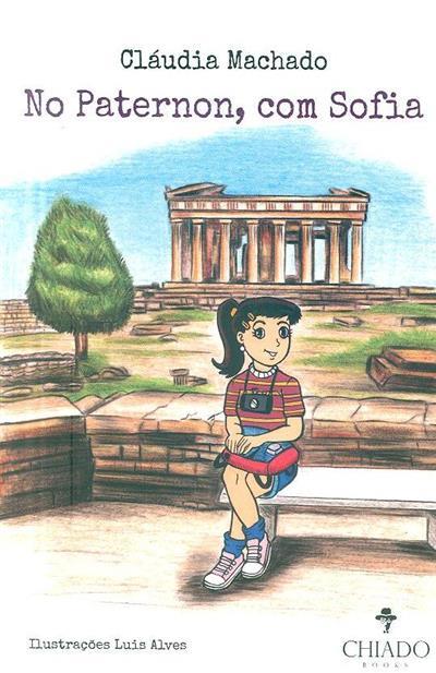 No Partenon, com Sofia (Cláudia Machado)