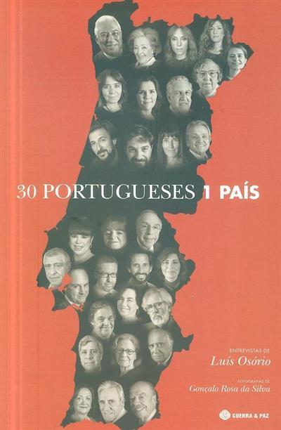 30 portugueses, 1 país (entrevistas de Luís Osório)