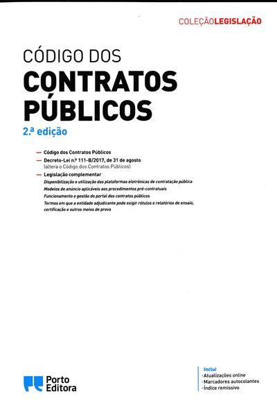Código dos contratos públicos (coord. Isabel Rocha, Carlos José Batalhão)