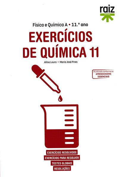 Exercícios de química 11 (Alina Louro, Maria José Pires)