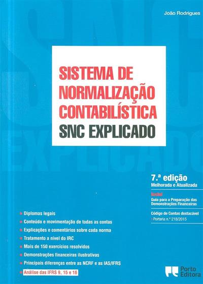 Sistema de Normalização Contabilística (João Rodrigues)