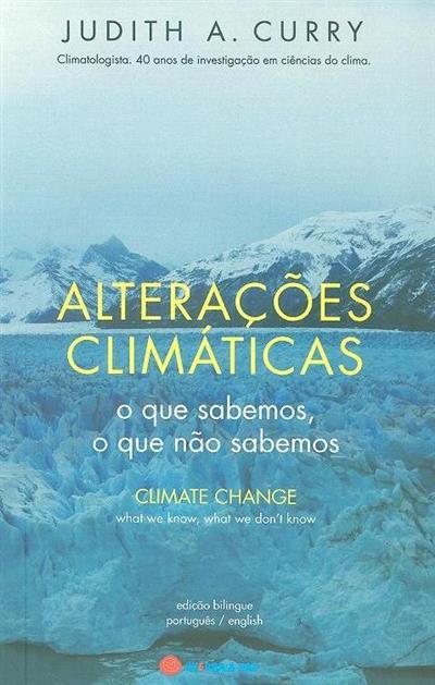 Alterações climátícas (Judith A. Curry)