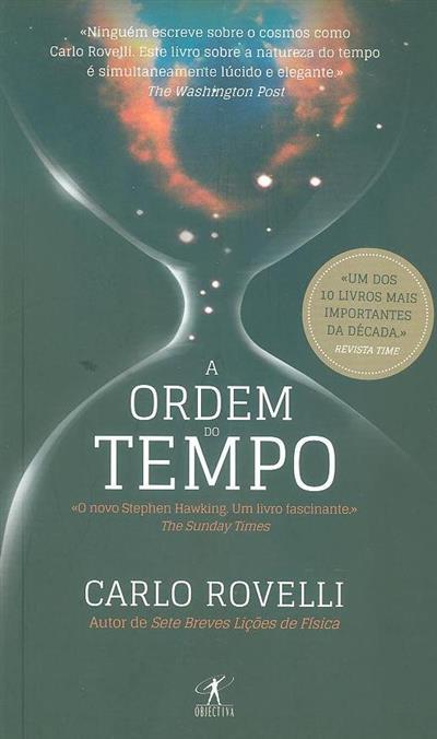 A ordem do tempo (Carlo Rovelli)