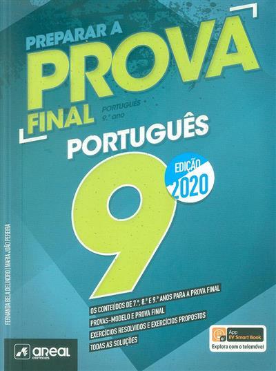 Preparar a prova final 2020, português 9 (Fernanda Bela Delindro, Maria João Pereira)