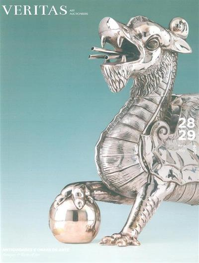 Antiguidades e obras de arte (Veritas Art Auctioneers)