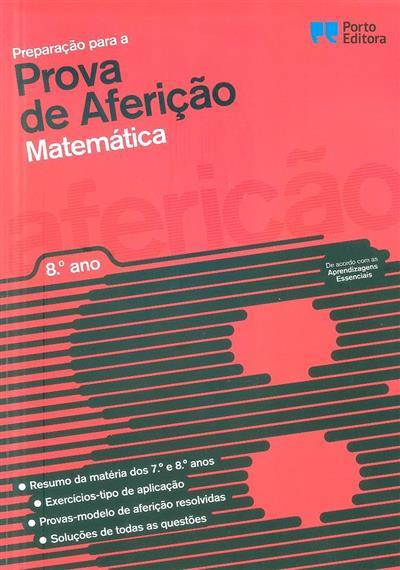 Preparação para a prova de aferição (Susana Lobão, Teresa Malheiro)