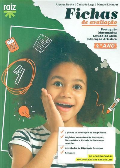 Fichas de avaliação, 4º ano (Alberta Rocha, Carla do Lago, Manuel Linhares)
