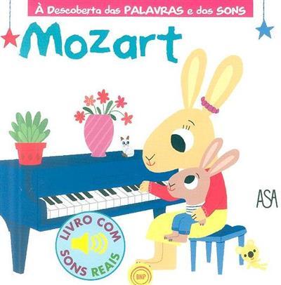 Mozart (il. Marion Billet, Gallimard Jeunesse)