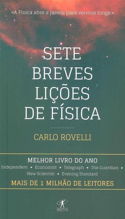Sete breves lições de física (Carlo Rovelli)