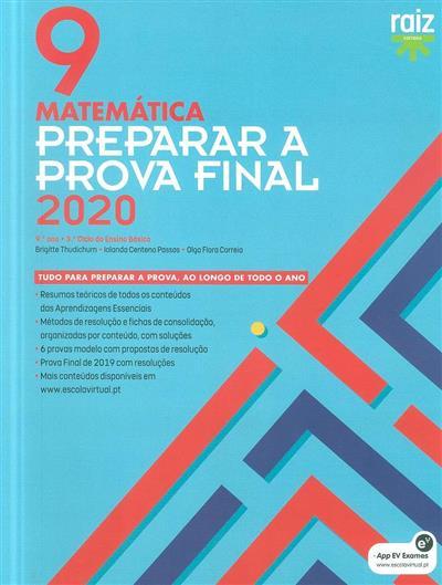 Preparar para a prova final 2020 (Brigitte Thudichum, Iolanda Centeno Passos, Olga Flora Correia)