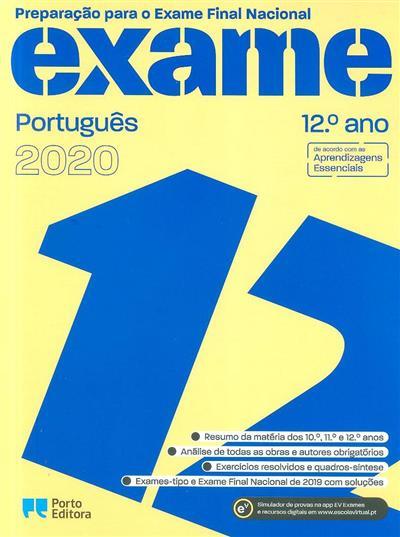 Preparação para o exame final nacional 2020 (Susana Nunes... [et al.])
