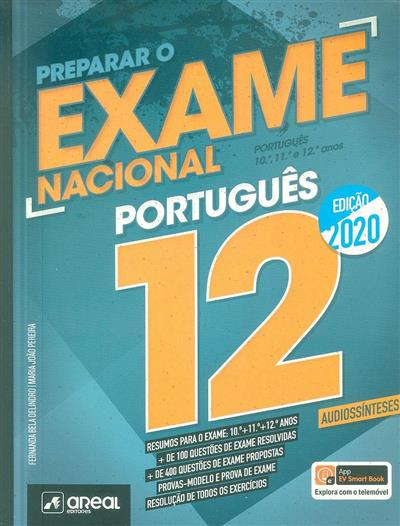 Preparar o exame nacional 12, 2020 (Fernanda Bela Delindro, Maria João Pereira)