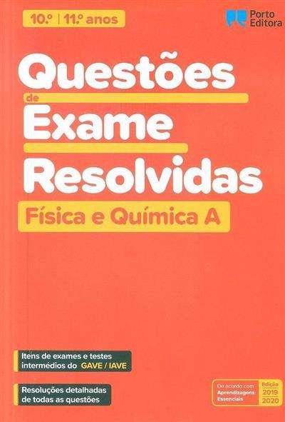 Questões de exame revolvidas (Luís Henriques Ferreira, Carlos Camelo, Hernâni Vaz)