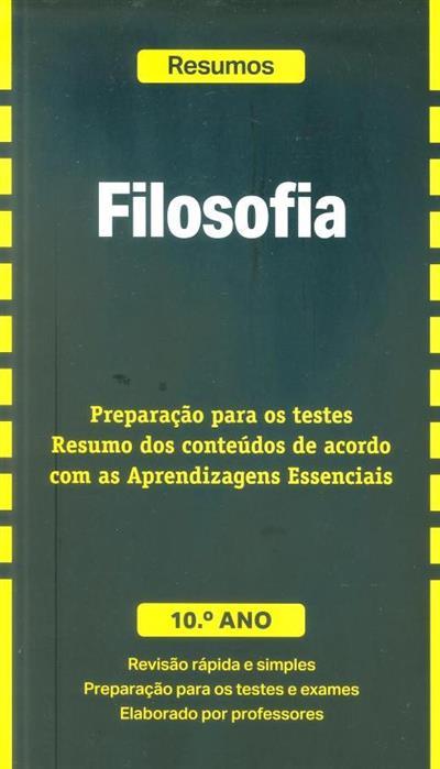 Filosofia, 10º ano (Marta Paiva, José Ferreira Borges)