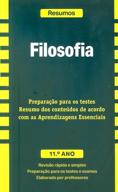 Filosofia, 11º ano (José Ferreira Borges)