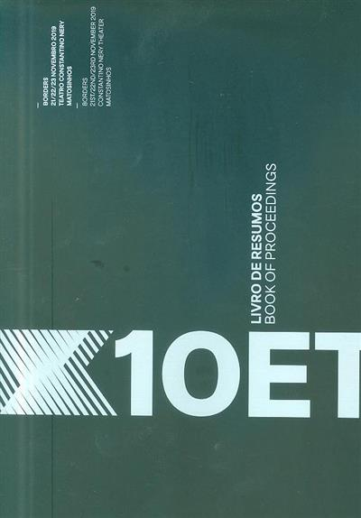 10 ET (10º Encontro de Tipografia = 10th Typohraphy Meeting)