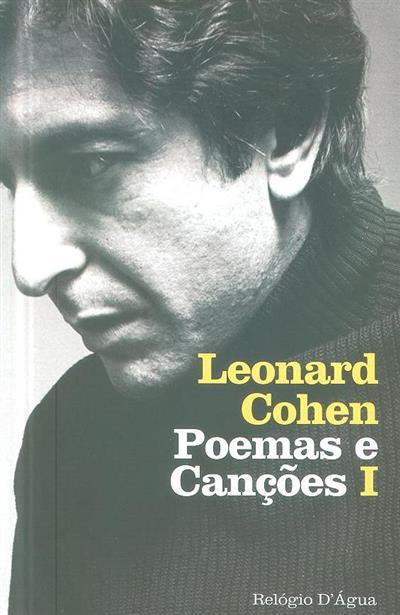 Poemas e canções I (Leonard Cohen)