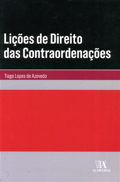 Lições de direito das contraordenações (Tiago Lopes de Azevedo)