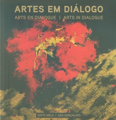 Artes em diálogo (pintura Edite Melo)