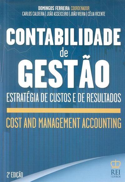 Contabilidade de gestão (coord. Domingos Ferreira)