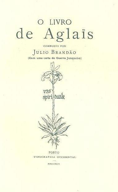 O livro de Aglaïs (Julio Brandão)