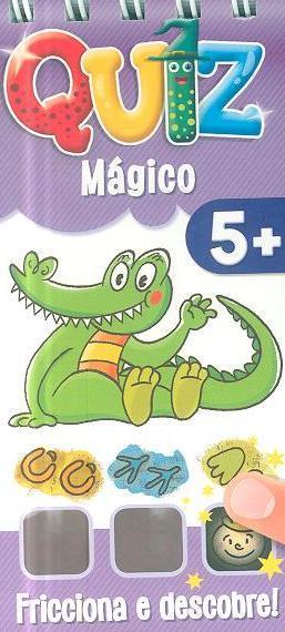 Quiz mágico, 5+ (il. Piotr Nowacki)