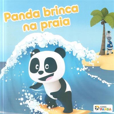 Panda brinca na praia (Hugo Rebelo)