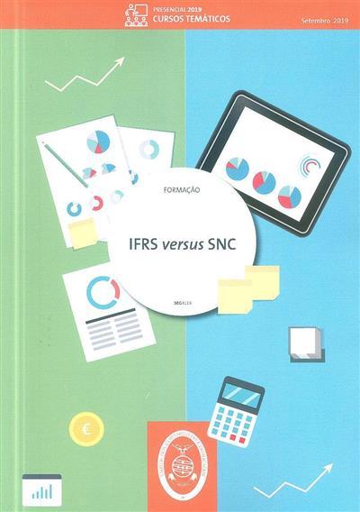 IFRS versus SNC (Isabel Lourenço)