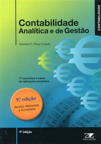 Contabilidade analítica e de gestão (António Campos Pires Caiado)