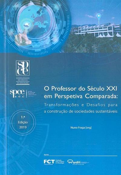O professor do século XXI em perspetiva comparada (org. Nuno Fraga)