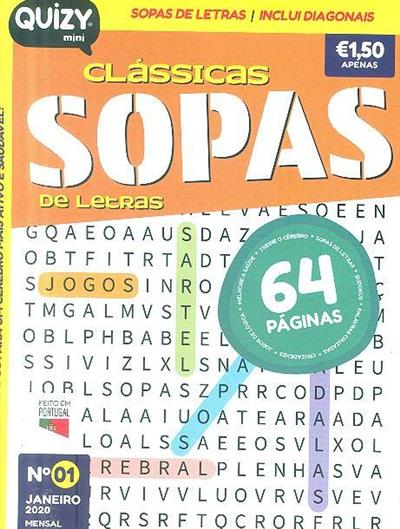 Quizy sopas de letras clássicas