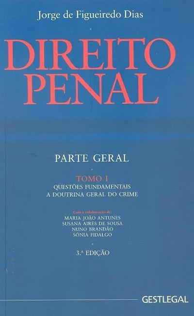 Direito penal (Jorge de Figueiredo Dias)