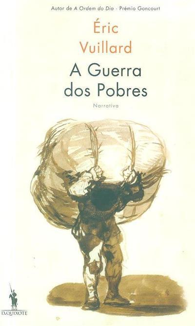 A guerra dos pobres (Éric Vuillard)