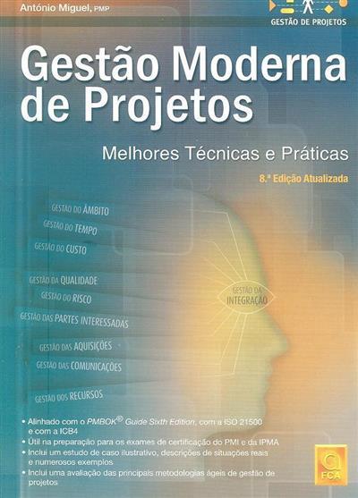 Gestão moderna de projectos (António Miguel)