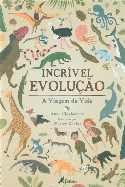 Incrível evolução (Anna Claybourne)
