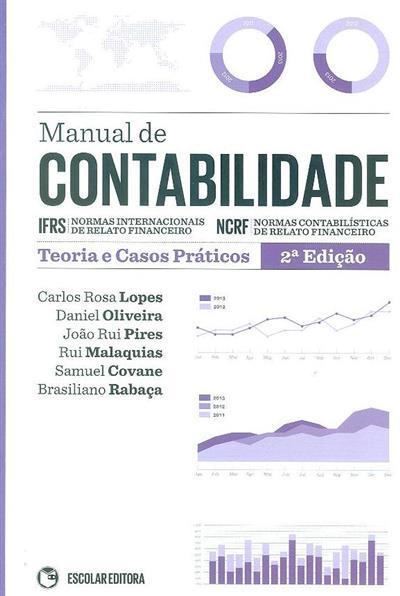 Manual de contabilidade (Carlos Rosa Lopes... [et al.])